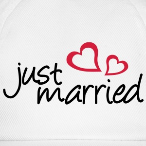 Just married - Baseball Cap