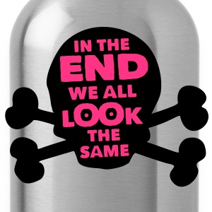 philosophy of life: we are all equal! T-Shirts - Water Bottle