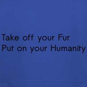 Take off your Fur T-shirts - Kinderen trui Premium met capuchon