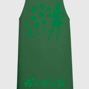 LUCK  sexy Irish girl st.Patrick's day Women's Plu - Cooking Apron