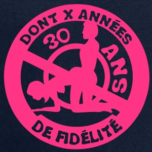 30 ans fidelite couple anniversaire amou Tee shirts - Sweat-shirt Homme Stanley & Stella