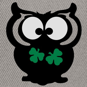 Owl shamrock st.Patty's day Classic Teenager T-Shi - Snapback Cap