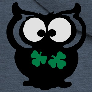 Owl shamrock st.Patty's day Classic Teenager T-Shi - Men's Premium Hooded Jacket
