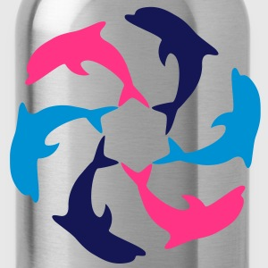 Dolphin Circle T-shirts - Drinkfles
