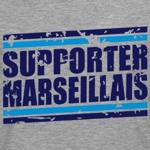 Supporter marseillais vintage Tee shirts - T-shirt manches longues Premium Homme