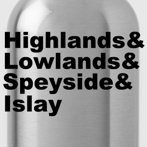 Scottish Whisky Regions T-Shirts - Trinkflasche