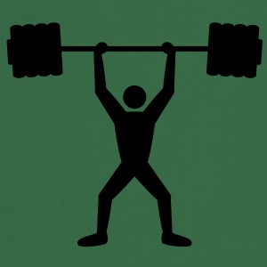 weightlifting T-shirts - Förkläde