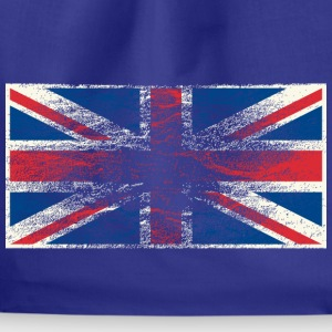 Kindershirt Flagge Union Jack (Grunge Style) - Turnbeutel