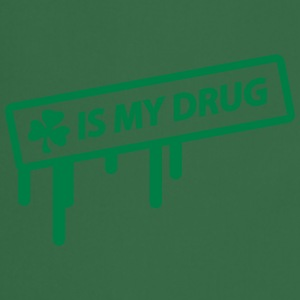 irish shamrock is my drug Tee shirts - Tablier de cuisine