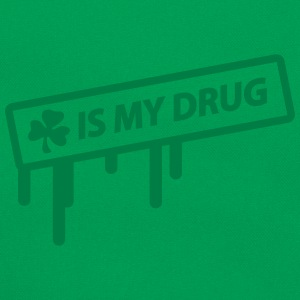 irish shamrock is my drug T-shirts - Retroväska