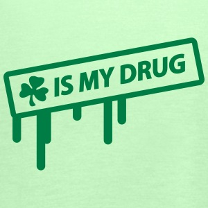 irish shamrock is my drug T-shirts - Vrouwen tank top van Bella