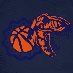basketball tyrannosaure logo dinosaure Tee shirts - Casquette classique