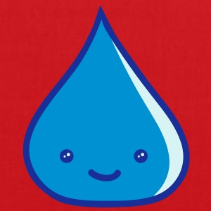 cute_water_drop Tee shirts - Tote Bag