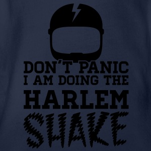 Don't panic do the Harlem shake meme dance t-shirt Shirts - Baby bio-rompertje met korte mouwen