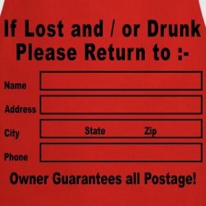 If Lost and / or Drunk Please Return to T-Shirts - Cooking Apron