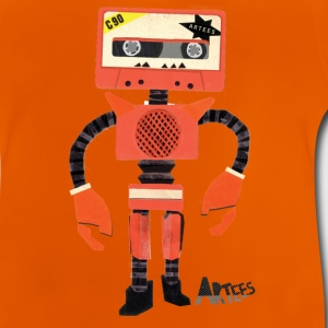 Orange Tape Robo - Baby T-Shirt