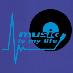 music_is_my_life T-shirts - Forklæde