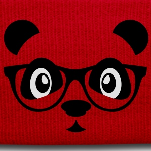 panda with glasses T-skjorter - Vinterlue