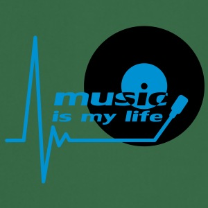 music_is_my_life T-skjorter - Kokkeforkle