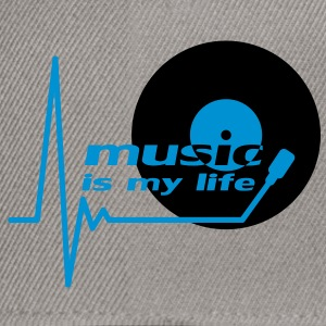 music_is_my_life T-skjorter - Snapback-caps