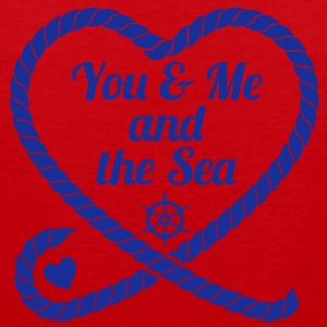 You & Me and the Sea - Männer Premium Tank Top