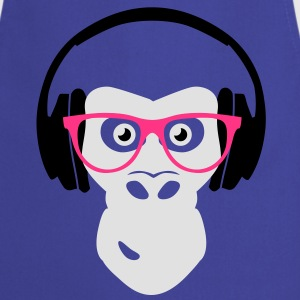 gorilla with headphones T-Shirts - Cooking Apron