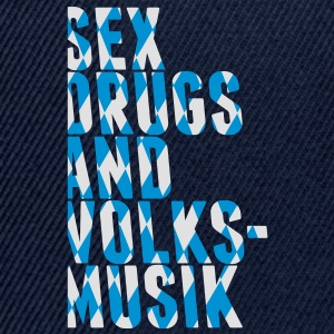 sex drugs and volksmusik T-shirts - Snapback cap