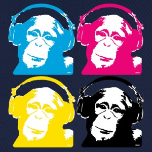 4 dj monkeys T-shirts - Baseballkasket