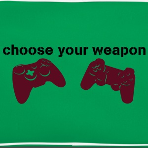 choose your weapon Magliette - Borsa retrò
