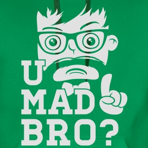 Like a cool you mad story bro moustache T-skjorter - Premium hettegenser for menn