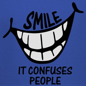 Smile It Confuses People - Kids Shirt - Kids' Premium Hoodie