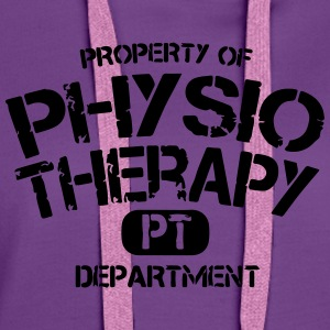 PT Departement Physiotherapie T-Shirts - Women's Premium Hoodie