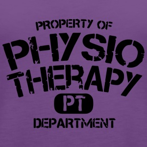 PT Departement Physiotherapie T-Shirts - Women's Premium Tank Top