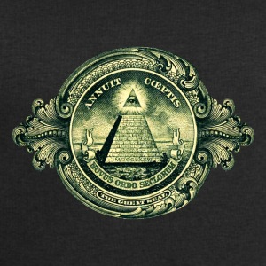 All seeing eye, pyramid, dollar, freemason, god T-shirts - Herresweatshirt fra Stanley og Stella