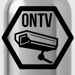 television cctv T-Shirts - Water Bottle
