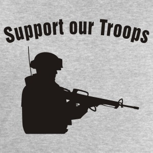 Support our Troops / soldier Tee shirts - Sweat-shirt Homme Stanley & Stella