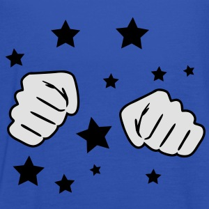 Fist with Stars T-shirts - Dame tanktop fra Bella