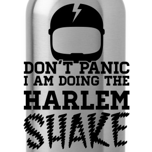 Don't panic do the Harlem shake meme dance t-shirt Camisetas - Cantimplora