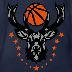basketball cerf bois logo animal deer 20 Tee shirts - Body bébé bio manches courtes