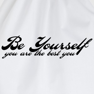 be yourself T-Shirts - Turnbeutel