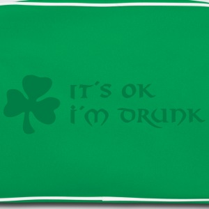 it´s ok, i´m drunk T-shirts - Retro taske