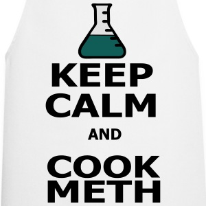 Keep Calm and Cook Meth T-shirts - Keukenschort
