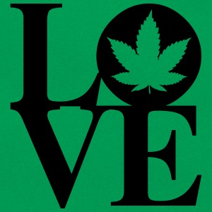 Cannabis Love Art Tee shirts - Sac Retro