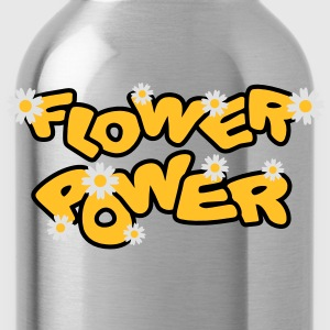 flower_power T-Shirts - Water Bottle