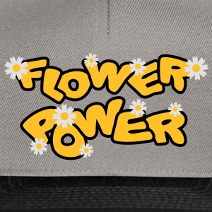 flower_power T-Shirts - Snapback Cap