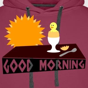 good morning T-shirts - Mannen Premium hoodie