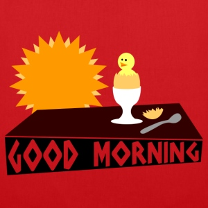 good morning T-shirts - Tygväska