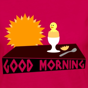 good morning T-shirts - Dame premium T-shirt med lange ærmer