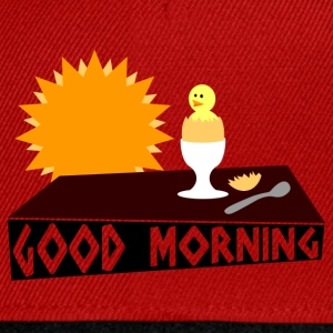 good morning T-Shirts - Snapback Cap