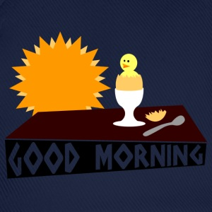 good morning T-shirts - Basebollkeps